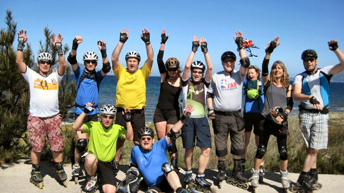 Mallorca Skate-Reise 2015 Gruppenbild